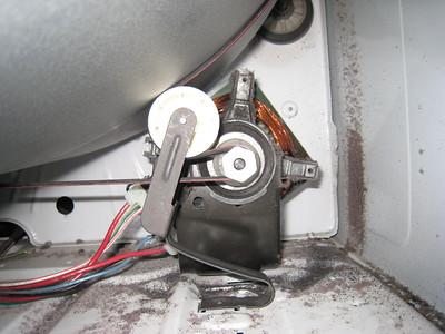 kenmore dryer belt. old-style roller idler pulley installed kenmore dryer belt