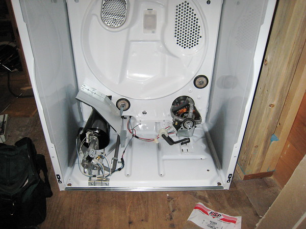kenmore natural gas conversion kit. gas dryer guts with the drum removed kenmore natural conversion kit ,