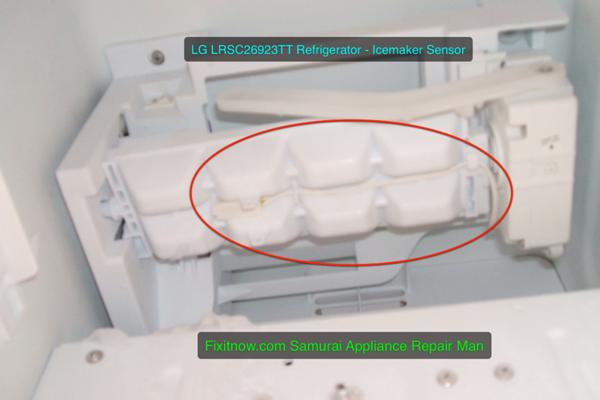 LG LRSC26923TT Refrigerator - Icemaker Sensor