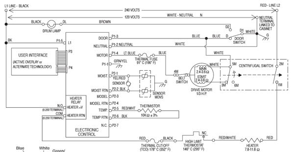wiring diagram for whirlpool dryer the wiring diagram need the wiring on the heating element on model gew9200lw1 dryer wiring diagram
