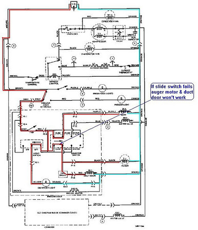 1192074597_8A5Mj M ge refrigerator wiring diagram ge refrigerator parts schematic wiring diagram for ge refrigerator at n-0.co