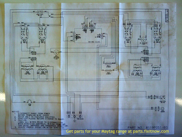 1192078105_HXvEd M maytag range merh752baq, series 15 range wiring diagram fixitnow maytag dishwasher wiring diagram at couponss.co