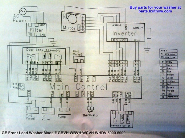 Ge Washer Schematic | Wiring Diagram on