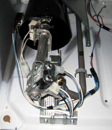 Anatomy of a Gas Burner Assembly in a Dryer