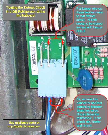 Wiring Diagram For Ge Profile Refrigerator